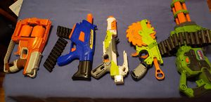 Make me an offer - 5 Toy Nerf guns for Sale in Vancouver, WA