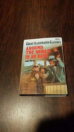 GREAT ILLUSTRATED CLASSICS: AROUND THE WORLD IN 80 DAYS for Sale in San Pablo, CA