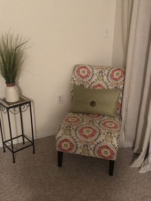 Ashley chairs fabric multi color for Sale in Lake Wales, FL