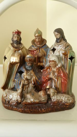 Ceramic Tea Candle holder Nativity for Sale in Los Angeles, CA