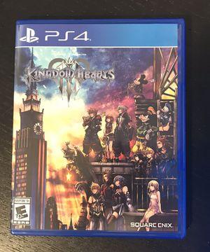 Kingdom Hearts 3 for Sale in Austin, TX