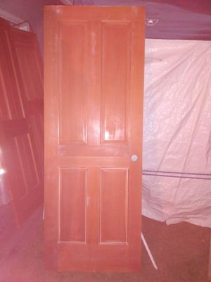 """Solid wood door. 80""""L by 30""""W for Sale in Kent, WA"""