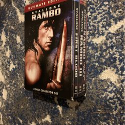 Rambo dvds for Sale in Kirkland,  WA