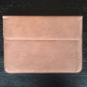 "Brown leather portfolio case for Apple MacBook 12"" for Sale in Charlotte, NC"