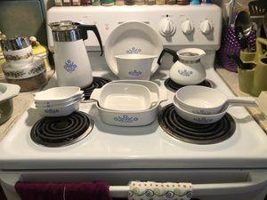 Cornflower blue Corningware for Sale in Phoenix, AZ