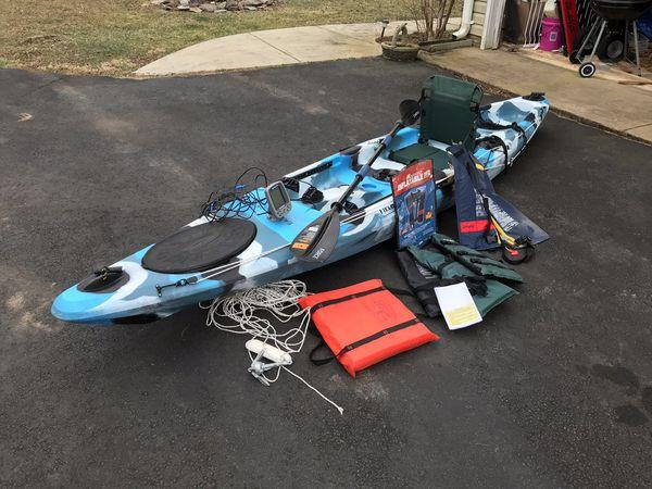 Kayak and extras