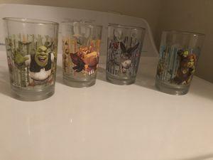 Shrek 4 Glasses for Sale in Nashville, TN