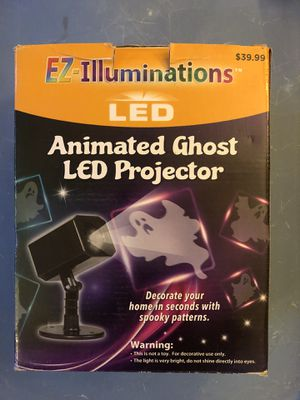 Animated ghost LED projector $30 LIKE NEW used once for Sale in Sierra Madre, CA