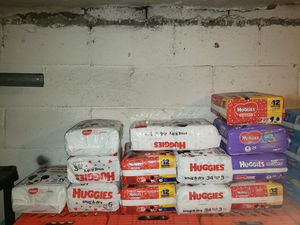 Huggies diapers for Sale in ARSENAL, PA