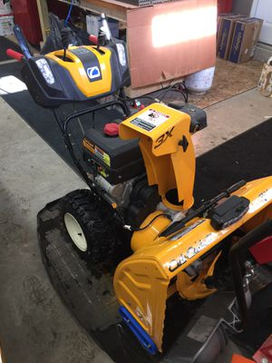 Cub cadet snow thrower for Sale in Peabody, MA