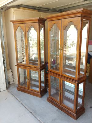 Matching Curio Cabinets for Sale in Surprise, AZ