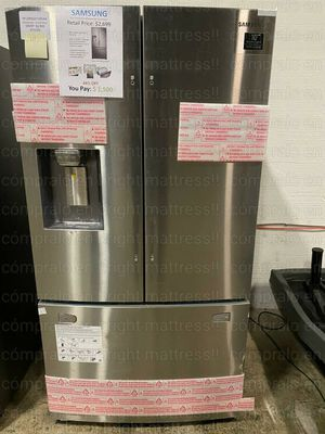 ❄️ ⚡️SAMSUNG FRENCH DOOR 3 Door Stainless Steels with ICE maker $1199 ✨💥 for Sale in Dallas, TX