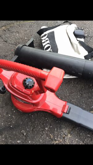 Total electric leaf blower with vacuum attachment for Sale in Waterford Township, MI