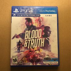 Blood And Truth for Sale in Los Angeles,  CA