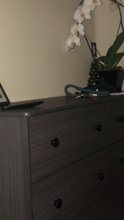 Grey 6 drawer dresser for Sale in Los Angeles,  CA