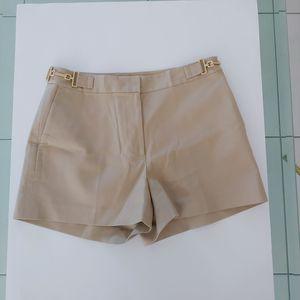 Michael Kors Khaki Tan Shorts Gold Accent Size 6 for Sale in Pembroke Pines, FL