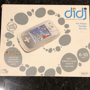 Diji Leap Frog Gaming Device for Sale in Vernon, CT