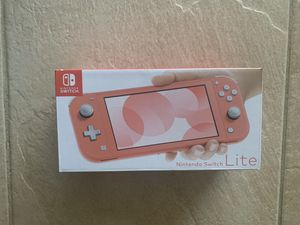 Brand New Nintendo Switch Lite Coral for Sale in Hayward, CA