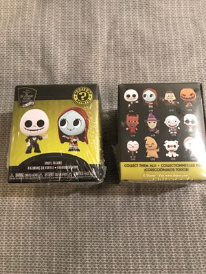 The Nightmare before Christmas - Mystery Minis New & Sealed 2 pack!! for Sale in Portland, OR