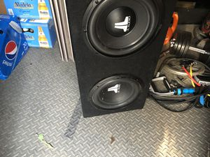 Speakers and Amp JL Audio for Sale in American Canyon, CA