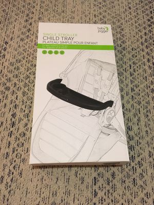 Baby Jogger child / snack tray for Sale in South Pasadena, CA