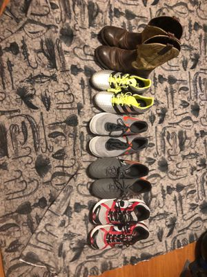 Cleats,boots,running shoes for Sale in Port St. Lucie, FL
