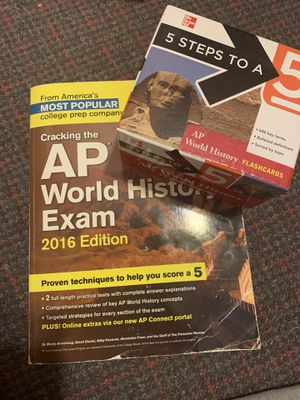 AP World History Review Set (Delivery) for Sale in Floral Park, NY