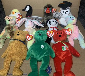 RARE Ty Beanie Babies Lot for Sale in Menifee, CA