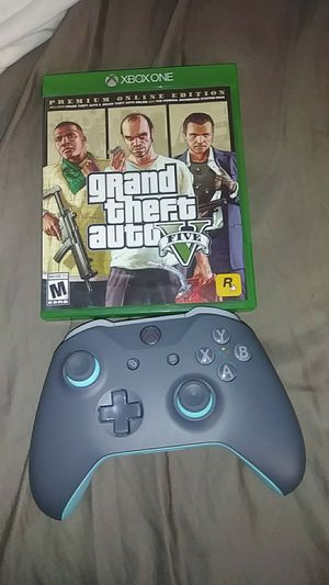 Xbox one controller and game for Sale in Guadalupe, CA