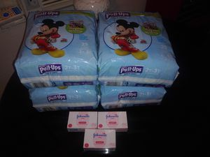 Huggies Pull-Ups with free Johnson's Baby Bar Soap for Sale in Apache Junction, AZ