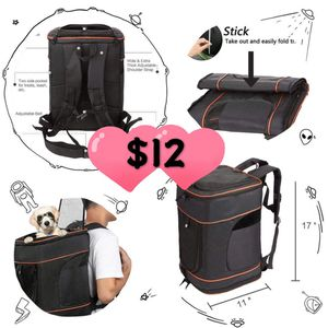 Brand new comfort pet carriers backpacks for Sale in Chino, CA