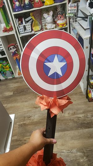 Captain america lollipop stand for Sale in Jurupa Valley, CA