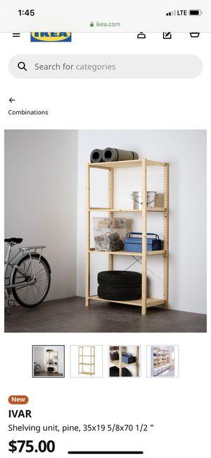 IKEA ivar shelf for Sale in Mercer Island, WA