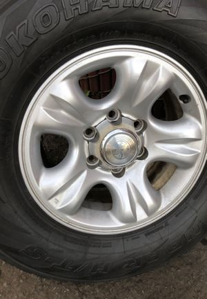 16 inch Toyota wheels and tires $250 or b/ o for Sale in Kent, WA