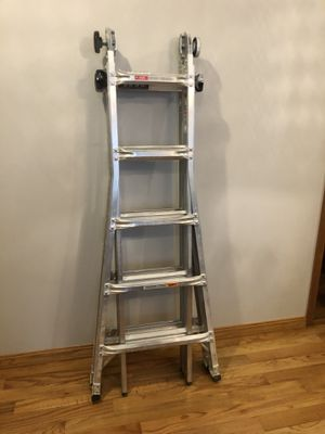 22 ft. Reach MPX Aluminum Multi-Position Ladder with 375 lb. Load Capacity Type IAA Duty Rating for Sale in Chicago, IL