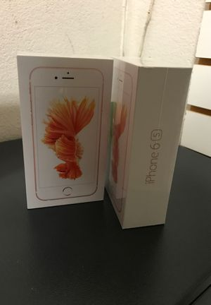 Rose gold iPhone 6s for Sale in Sanger, CA