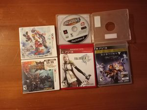 3DS, PS2, PS3 games for Sale in Ithaca, NY