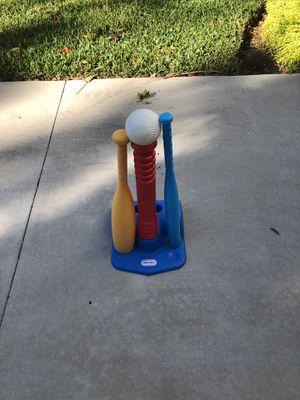 Little Tykes Baseball Bat, Ball & Tee for Sale in Tampa, FL