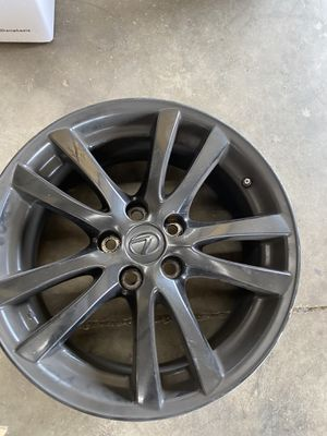 Lexus IS250 rims painted black all 4 good condition just dirty 500$ for Sale in St. Cloud, FL
