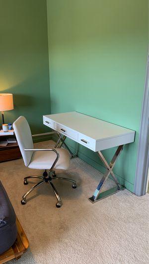 Pottery Barn Ava Desk & Chair for Sale in Chicago, IL