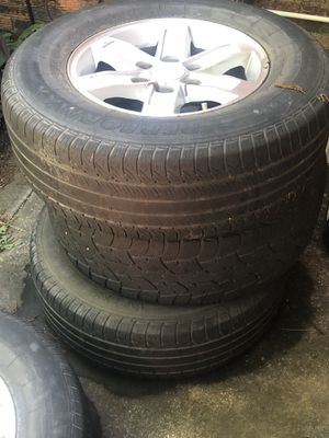 Rims W tires 17s 6 lung for Sale in Irving, TX