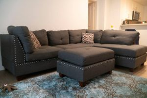 Couch with Ottoman for Sale in Irvine, CA