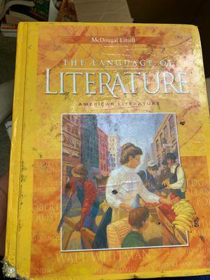 The Language of Literature: American Literature (McDougal Littell Language of Literature) for Sale in Sacramento, CA