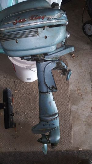 Vintage Sea King out board motor for Sale in Lockport, IL