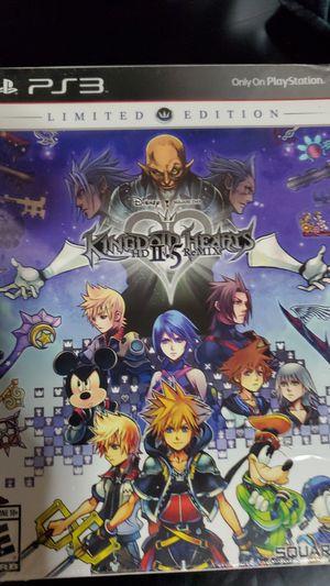 Kingdom Hearts 2.5 PS3 LE for Sale in Everett, WA
