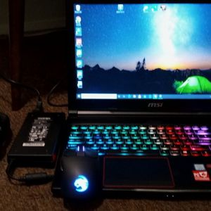 MSI Gaming Laptop With Headset + Wireless Gaming Mouse for Sale in Everett, WA