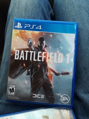 Battlefield 1 PS4 for Sale in West Palm Beach, FL