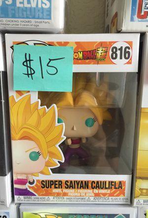 Funko pop dragon ball z caulifla 816 for Sale in Los Angeles, CA