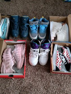Jordan, Converse, Air Max, Vans, & Adidas for Sale in Bloomington,  IL