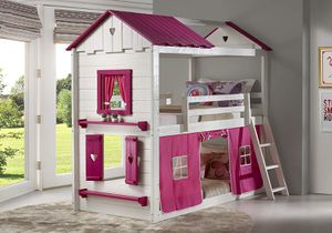 New Twin Twin Sweetheart Tent Bunk Bed (Delivery Available) for Sale in Arlington, TX